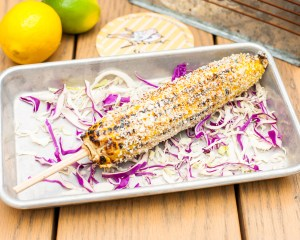Grilled Chili Lime Corn On The Cob
