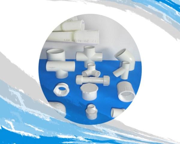 Tubería, válvulas y conexiones en PVC C-40
