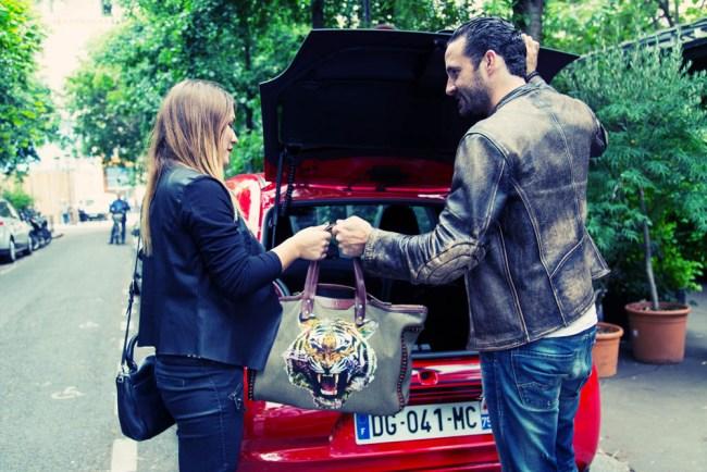 Peugeot 108 test drive Paris