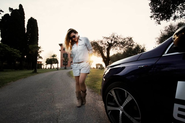 Villa Pioppi _ Sirmione Italy _ Peugeot 308GT _ Editorial Shooting