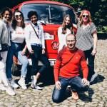 avec le bus : auto wichert classic car rallye 2017