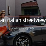 an italian streetview : mazda mx5 rf : roadtrip italy