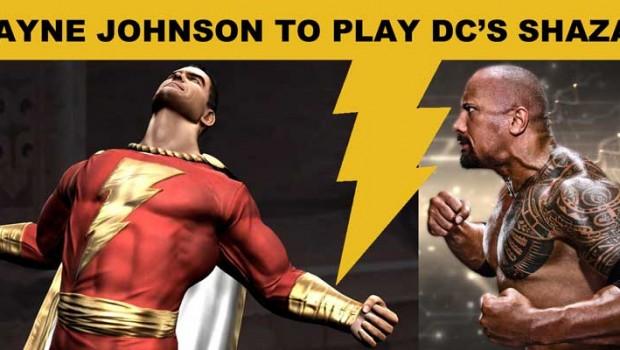 Dwayne Johnson To Play DC Comics Shazam Aka Captain