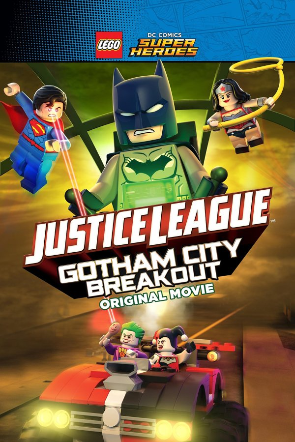 Lego: DC: Gotham Breakout Blu-ray Review - Impulse Gamer
