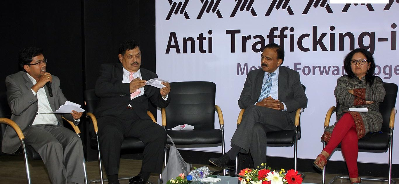 Panelists at the Anti Trafficking-in-Persons Conclave 3