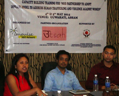Impulse Model Capacity Building Training For NGOs - Guwahati 4 & 5 May, 2014