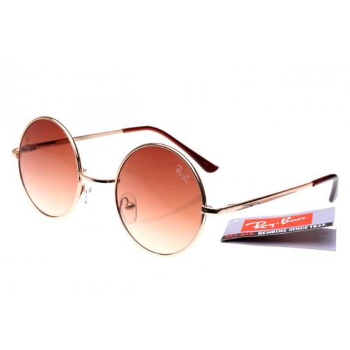 Ray Ban Prezzi Wayfarer Dimensione 8008 occhiali da sole rotondi Gold Frame-500x500
