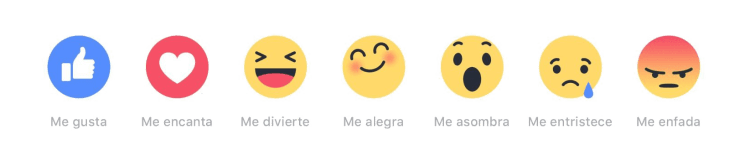 emojis reactions facebook