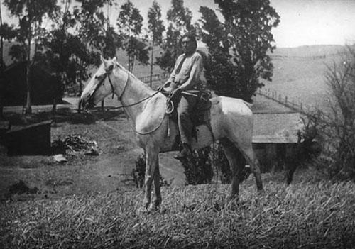 ishi horseback