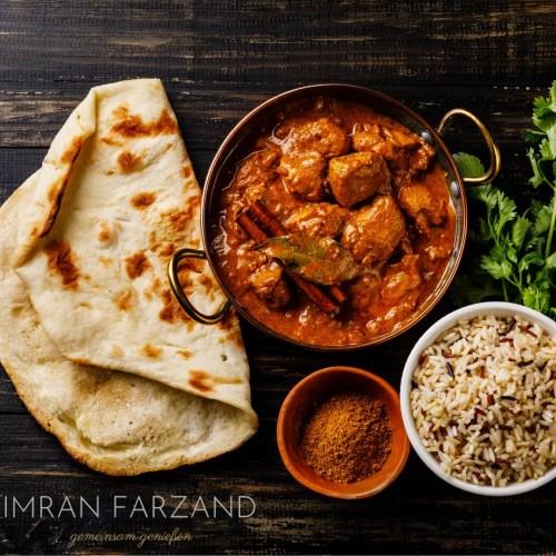 Indischer Namaste India Online Live Kochkurs der interaktive Kochkurs mit Imran Farzand