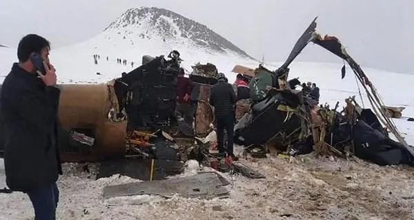 ترکی میں فوجی ہیلی کاپٹر گرکر تباہ؛ آرمی کے کورکمانڈر سمیت 10 ہلاک ،تین زخمی