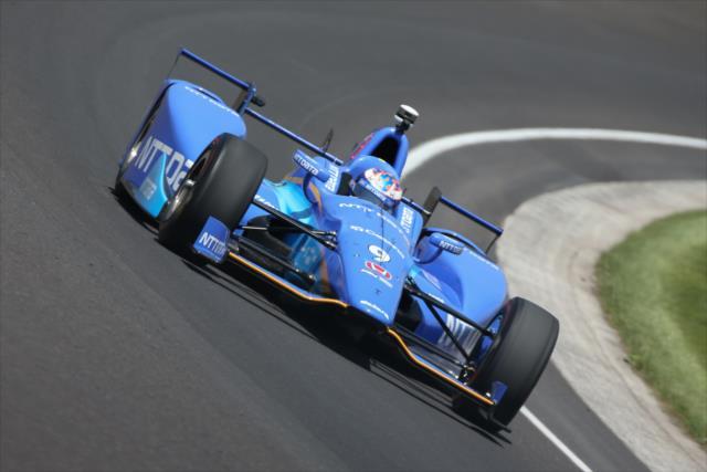 Honda pegó primero en las pruebas (FOTO: Joe Skibinski/INDYCAR)