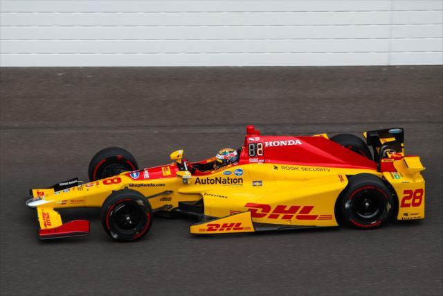 Hunter-Reay se perfila para ser favorito por la pole, junto con la gente de Andretti Autosport (FOTO: David Yowe/INDYCAR)