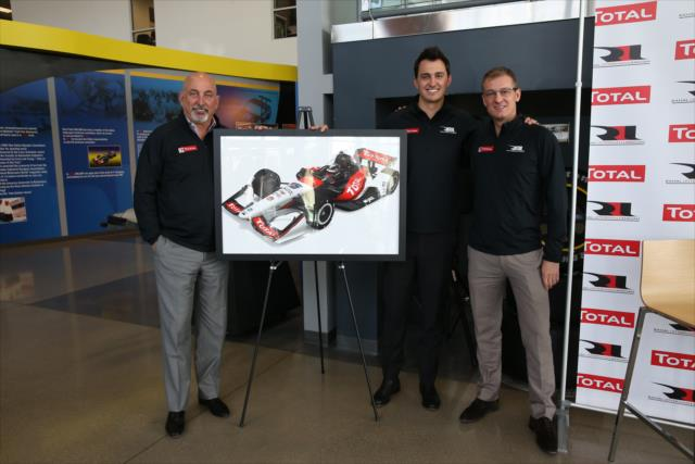 La familia Rahal presentó a un nuevo patrocinador (FOTO: Chris Jones/IMS Photo)
