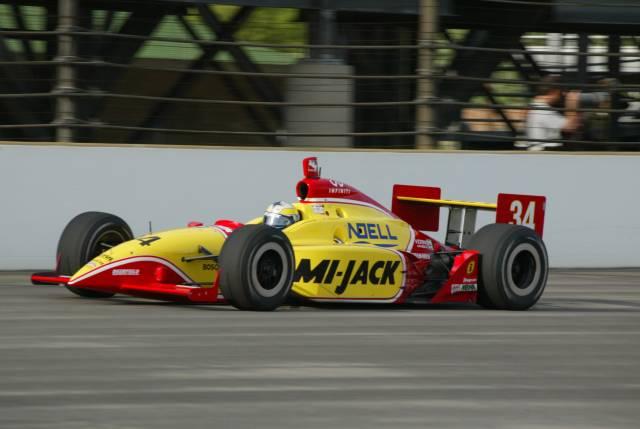 Laurent Ledon en la Indy 500 de 2002 con Conquest (FOTO: Indianapolis Motor Speedway)