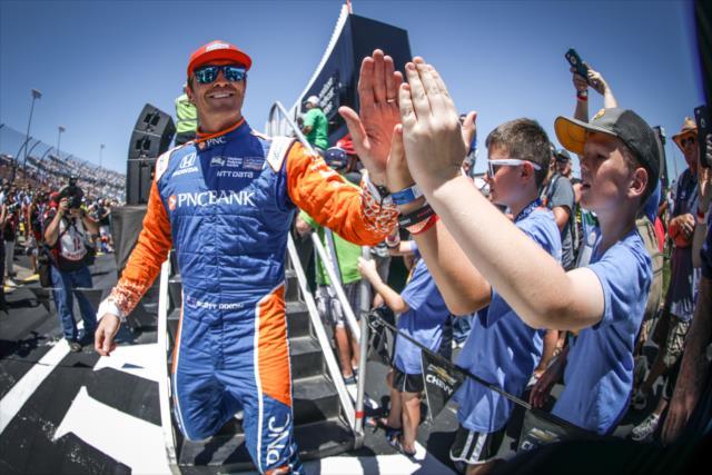 Nada le salió a Dixon ni a Ganassi Racing (FOTO: Shawn Gritzmacher/IMS, LLC Photo)