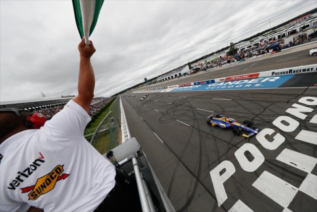 Rossi busca su tercer triunfo en fila (FOTO: Joe Skibinski/IMS, LLC Photo)