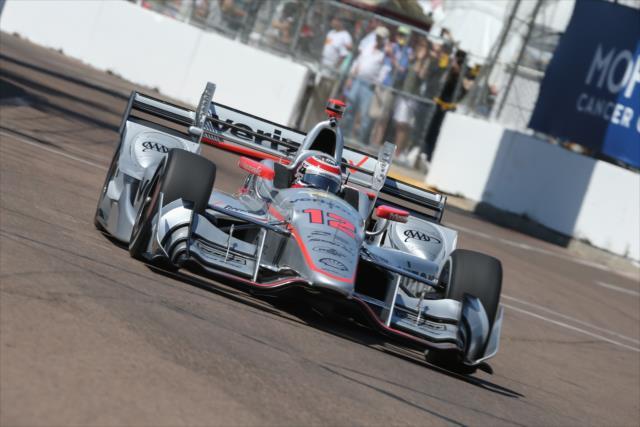 Power fue el mejor Penske y el Chevrolet mejor ubicado (FOTO: Joe Skibinski/INDYCAR)