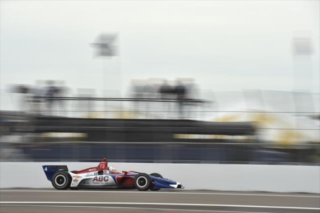 Matheus Leist ganó tres veces en la Indy Lights en año pasado: dos de esas victorias fueron en óvalos (FOTO: Chris Owens/IMS, LLC Photography)