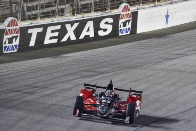 Rahal ganó en Texas, en agosto pasado (FOTO: Chris Owens/INDYCAR)