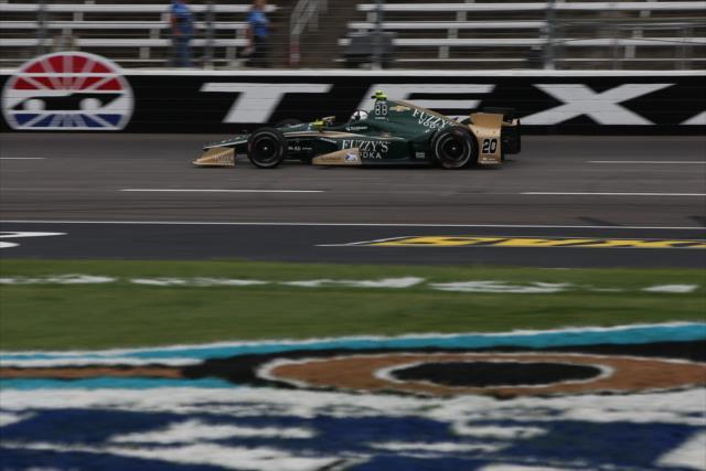 Carpenter se siente confiado en que logrará avanzar a las primeras posiciones (FOTO: Chris Jones/INDYCAR)