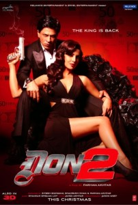 Don 2 Movie Official Poster