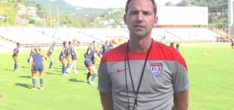 US WNT U17 head coach B.J. Snow believes in his team