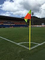 Grenada Athletic Stadium in St. George's, Grenada.