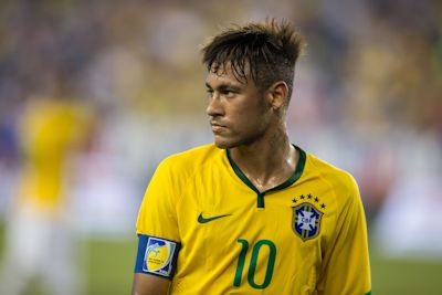The USA lost to Brazil in September 2015. Neymar (above) was the Captain.