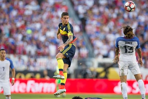 Santa Clara, California - Friday, June 3, 2016: Colombia beat USA 2-0 in the opening game of Copa America Centenario at Levi's Stadium.