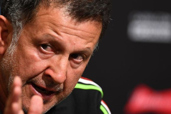 Mexican National Team coach, Juan Carlos Osorio Chooses His Team. Photo by Omar Martinez on June 17, 2016.