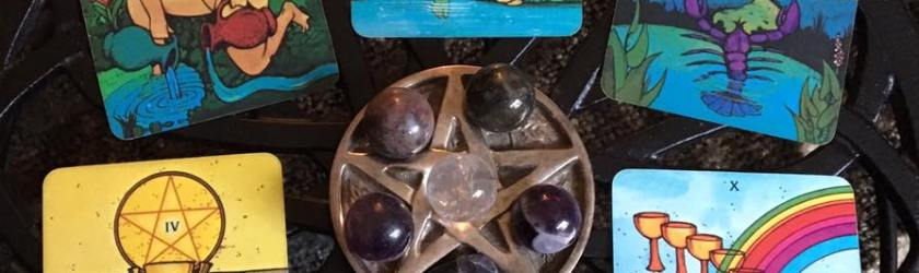 Invoking Spirit and the Pentagram of Protection ~ Tarot for 17 Feb 2017