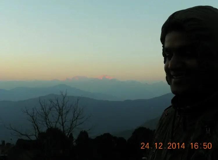 golden range of Kanchenjunga