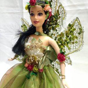Boneca Fada Verde do Pantano