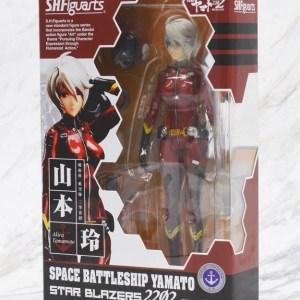 Yamato 2202 Rei Akira Yamamoto Figure Bandai