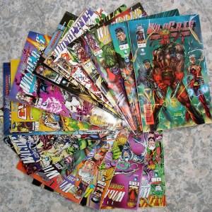WILD C.A.T.s Comics (Quadrinhos) Números 1 ao 14