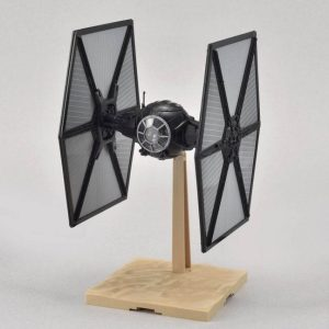Star Wars First Order Tie Fighter 1/72 Model Kit BANDAI