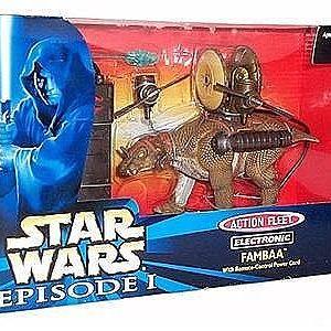 Star Wars Fambaa Eletrônico Action Fleet