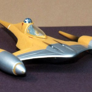 Star Wars Naboo Fighter Action Fleet Model