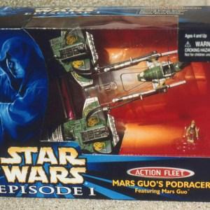 Star Wars Mars Guo's Pod Racer Action Fleet Galoob