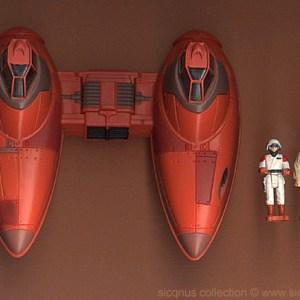 Star Wars Twin Pod Cloud Car Action Fleet Galoob