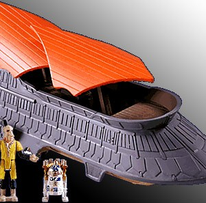 Star Wars Jabba's Sail Barge Action Fleet Galoob
