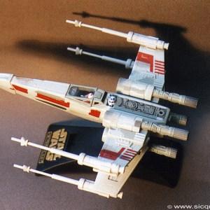 Star Wars X-Wing Fighter Action Fleet Galoob