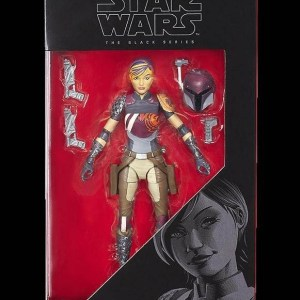 Star Wars Rebels Sabine Wren Action Figure Black Series Hasbro
