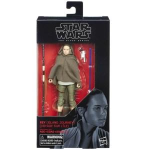 Star Wars Last Jedi Rey Action Figure Black Series Hasbro