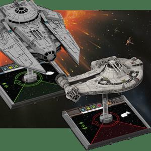 Star Wars VT-49 Imperial Decimator de X-Wing Jogo de Miniaturas