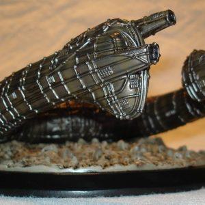 Alien Derelict Ship Resin Model
