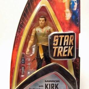Star Trek Capitão Kirk Mirror Action Figure Art Asylum