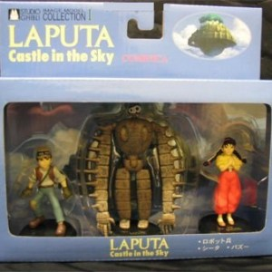 Laputa Set of 3 Figure Tsukuda Hobby