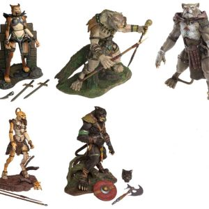 Stan Winston – Realm of the Claw Set-5 Action Figures